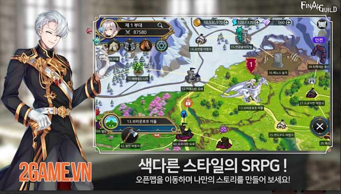 Final Guild- Game SRPG thế giới mở phong cách giả tưởng khác biệt 1