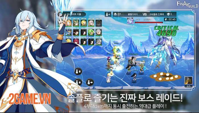 Final Guild- Game SRPG thế giới mở phong cách giả tưởng khác biệt 3