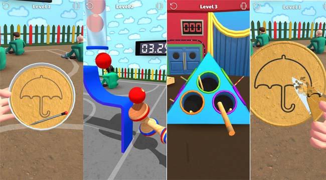 Candy Challenge 3D – Thử thách tách kẹo đường trong Trò Chơi Con Mực