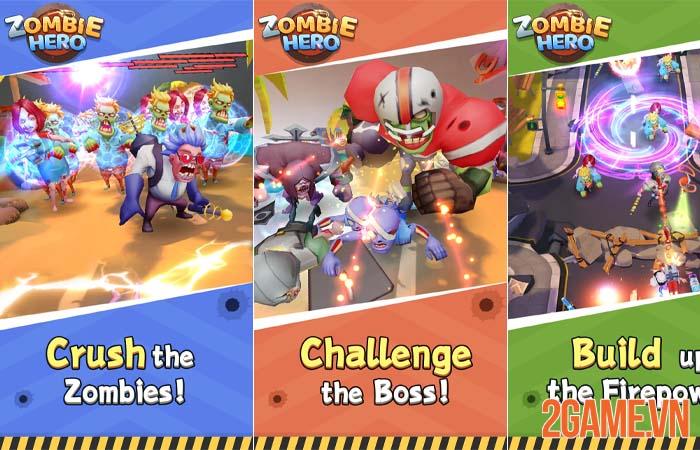 Zombie Hero - Game thẻ tướng kết hợp phòng thủ zombie độc đáo 2