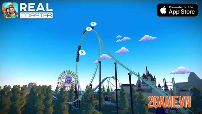 Real Coaster: Idle Game cho phép bạn thực hiện ước mơ thời thơ ấu 1