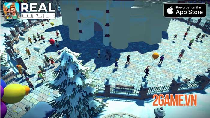 Real Coaster: Idle Game cho phép bạn thực hiện ước mơ thời thơ ấu 2