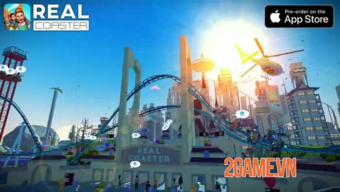 Real Coaster: Idle Game cho phép bạn thực hiện ước mơ thời thơ ấu 3