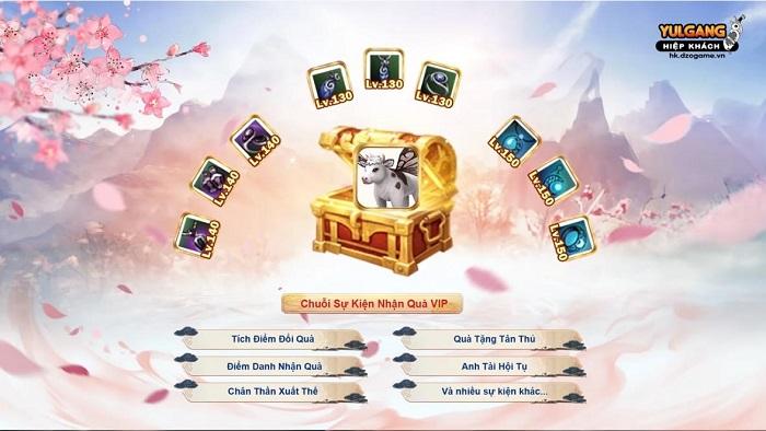 Yulgang Hiệp Khách tái hiện huyền thoại với máy chủ mới cùng nhiều sự kiện hấp dẫn 1
