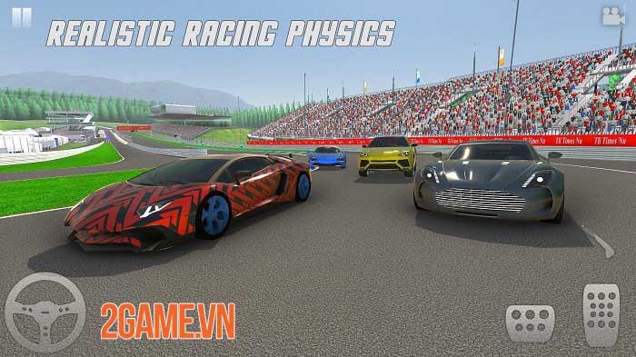 Racing Xperience - Thách thức bạn bè trong các cuộc đua xe 8 người chơi 1