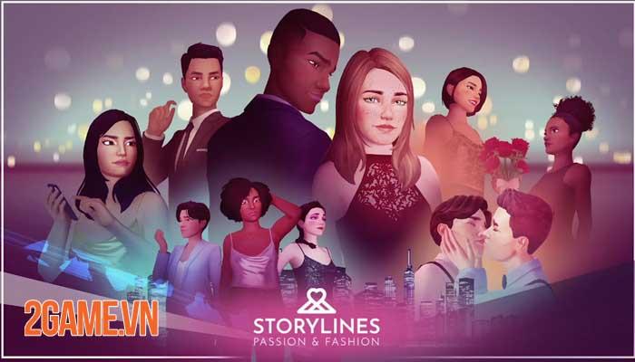Storylines: Passion and Fashion - Game 3D thời gian thực cho nữ giới thế hệ 3