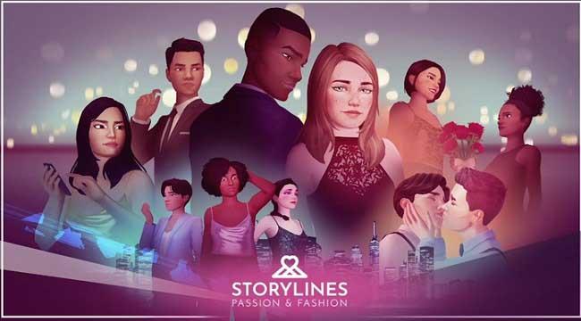 Storylines: Passion and Fashion – Game 3D thời gian thực cho nữ giới thế hệ