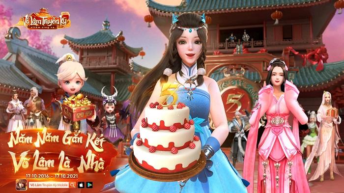 Võ Lâm Kỳ Ảo: Bộ ảnh sinh nhật hoành tráng mừng VLTK Mobile 5 tuổi 1
