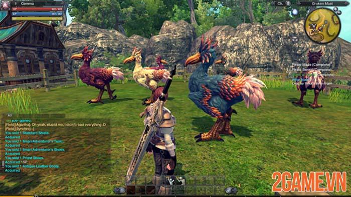 RaiderZ Mobile - Game săn quái vật hoành tráng trên PC chuẩn bị hồi sinh 2