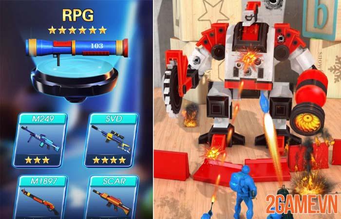 Toy Corps - Câu chuyện đồ chơi dưới góc nhìn những chú lính xanh 2