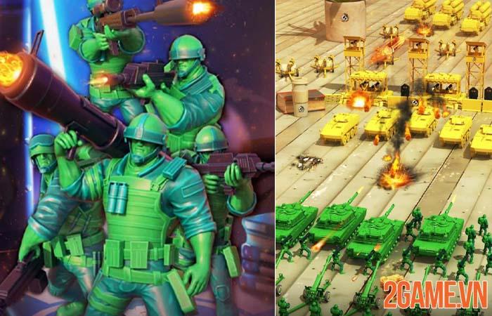 Toy Corps - Câu chuyện đồ chơi dưới góc nhìn những chú lính xanh 0