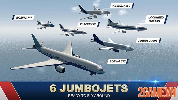 Jumbo Jet Flight Simulator - Trải nghiệm kiến thức hàng không qua game 3