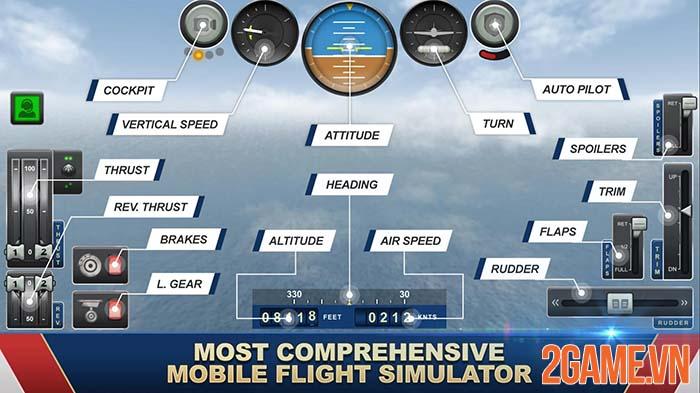 Jumbo Jet Flight Simulator - Trải nghiệm kiến thức hàng không qua game 1
