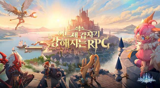 Symphony of Epic – Game nhập vai giả tưởng lên cấp nhanh chóng