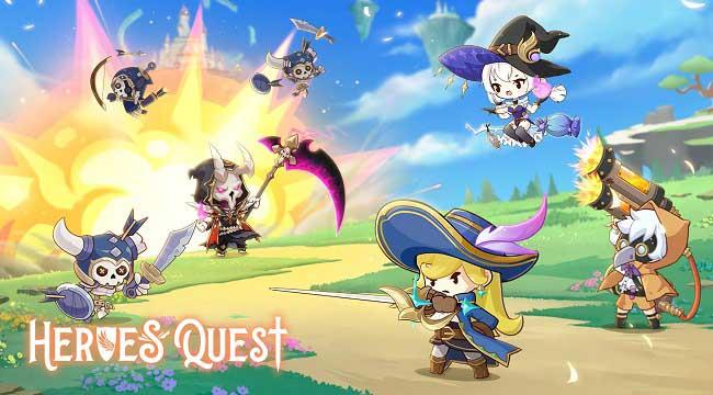 Heroes' Quest: AFK Explorer – Game nhập vai idle theo phong cách anime dễ thương