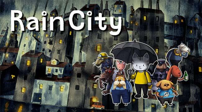 RainCity – Game Indie tái hiện thành phố mưa với đồ họa vẽ tay cực đỉnh