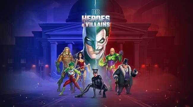 DC Heroes & Villains – Xếp kim cương cùng vũ trụ đen tối của DC Comics