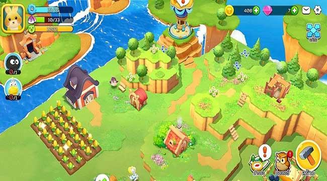 Sweet Topia – Game mô phỏng nông trại theo phong cách hoạt hình