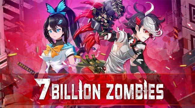 7 Billion Zombies – Gánh cả thế giới trong game idle thú vị trên mobile