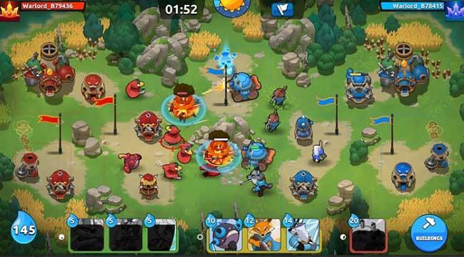 Wild RTS Wars – Game RTS cổ điển độc đáo trên điện thoại di động