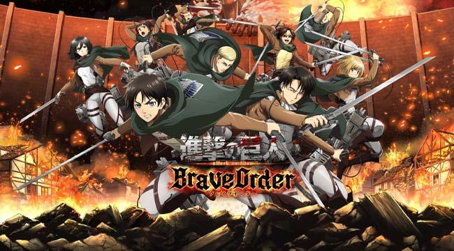 Attack on Titan: Brave Order – Cuộc chiến cuối cùng của nhân loại