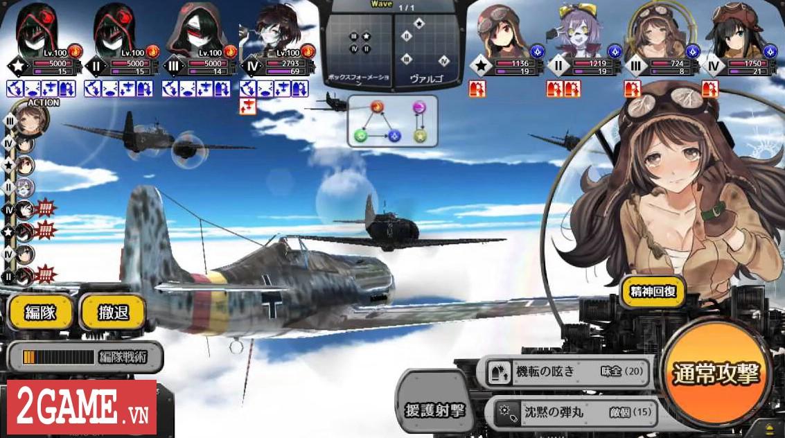 Biệt Đội Thiếu Nữ – Khi các thiếu nữ trong Manga trở thành phi công