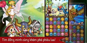 Puzzle Guardians – Game nhập vai xếp hình của Asiasoft chuẩn bị ra mắt game thủ Việt