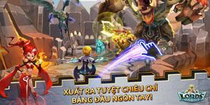 Lords Mobile mang đến cùng lúc hai mô thức chơi nhập vai và chiến thuật thú vị trên di động