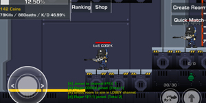 LOSTGUNS – Game mobile bắn súng 2D thời kỳ đầu