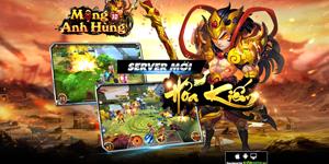 Tặng 505 giftcode game Mộng Anh Hùng 3D