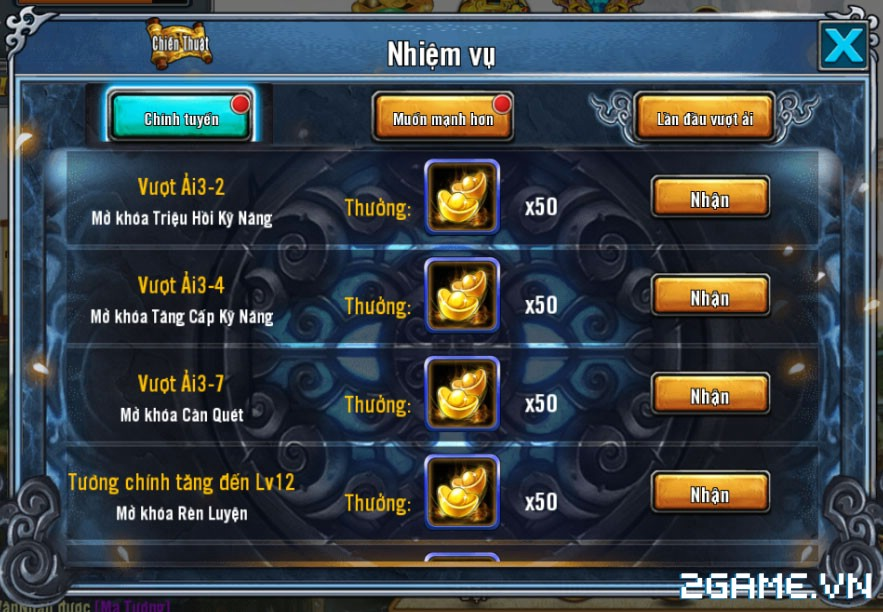 King of Arena – Tìm hiểu Nhiệm Vụ