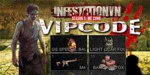Tặng 700 giftcode game Infestation Việt Nam