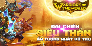 Tặng 1000 giftcode game Warriors of The Word