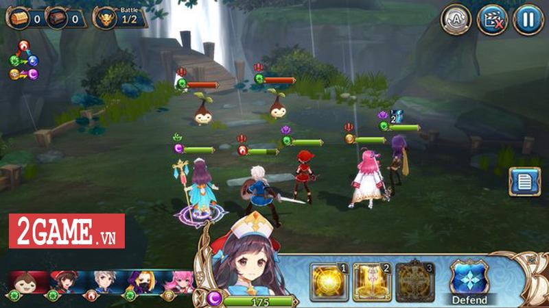 Knights Chronicle - Game mobile nhập vai mang đậm phong cách Nhật Bản ra mắt bản tiếng Anh 2