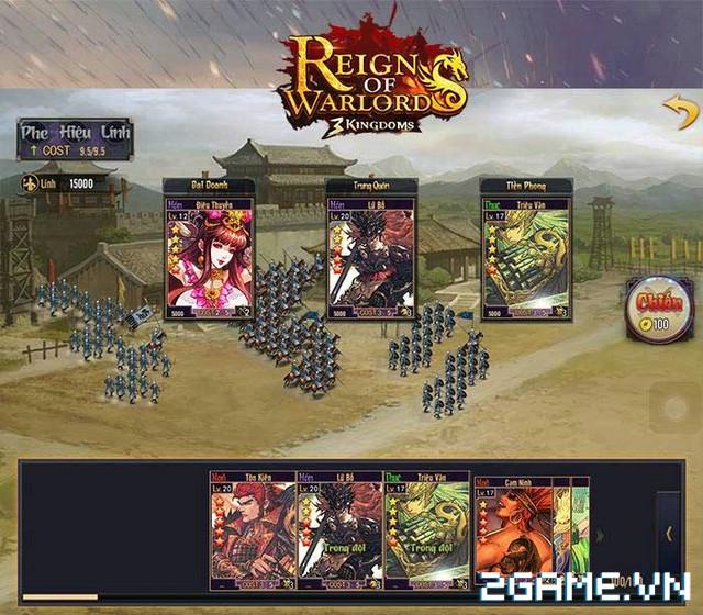 Reign of Warlords – Tìm hiểu chiến thuật thời gian thực là xu hướng