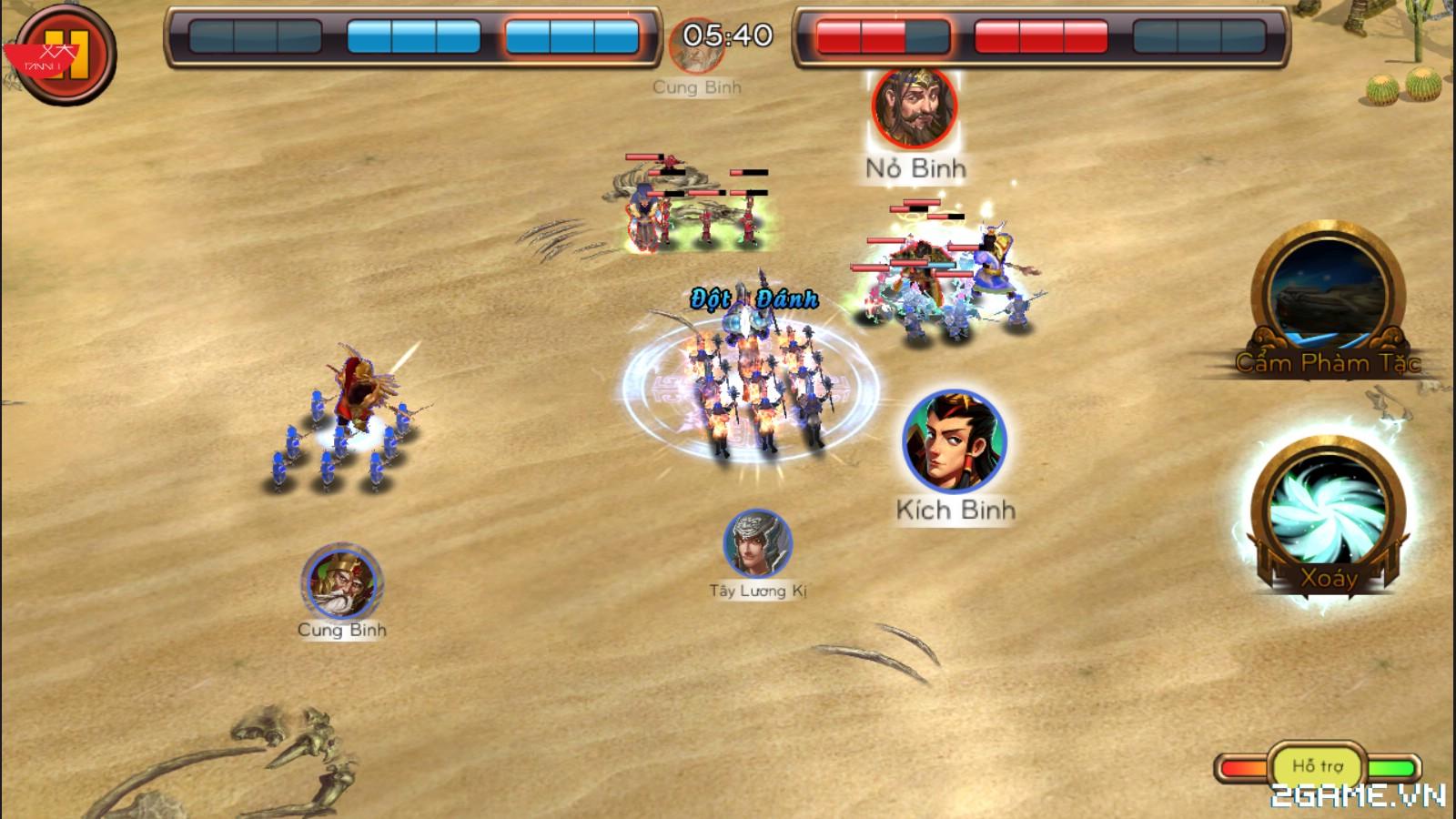 Bát Quái Trận Đồ mobile – Cách Điều Khiển Quân Đội – Chiến Đấu Trên Chiến Trường