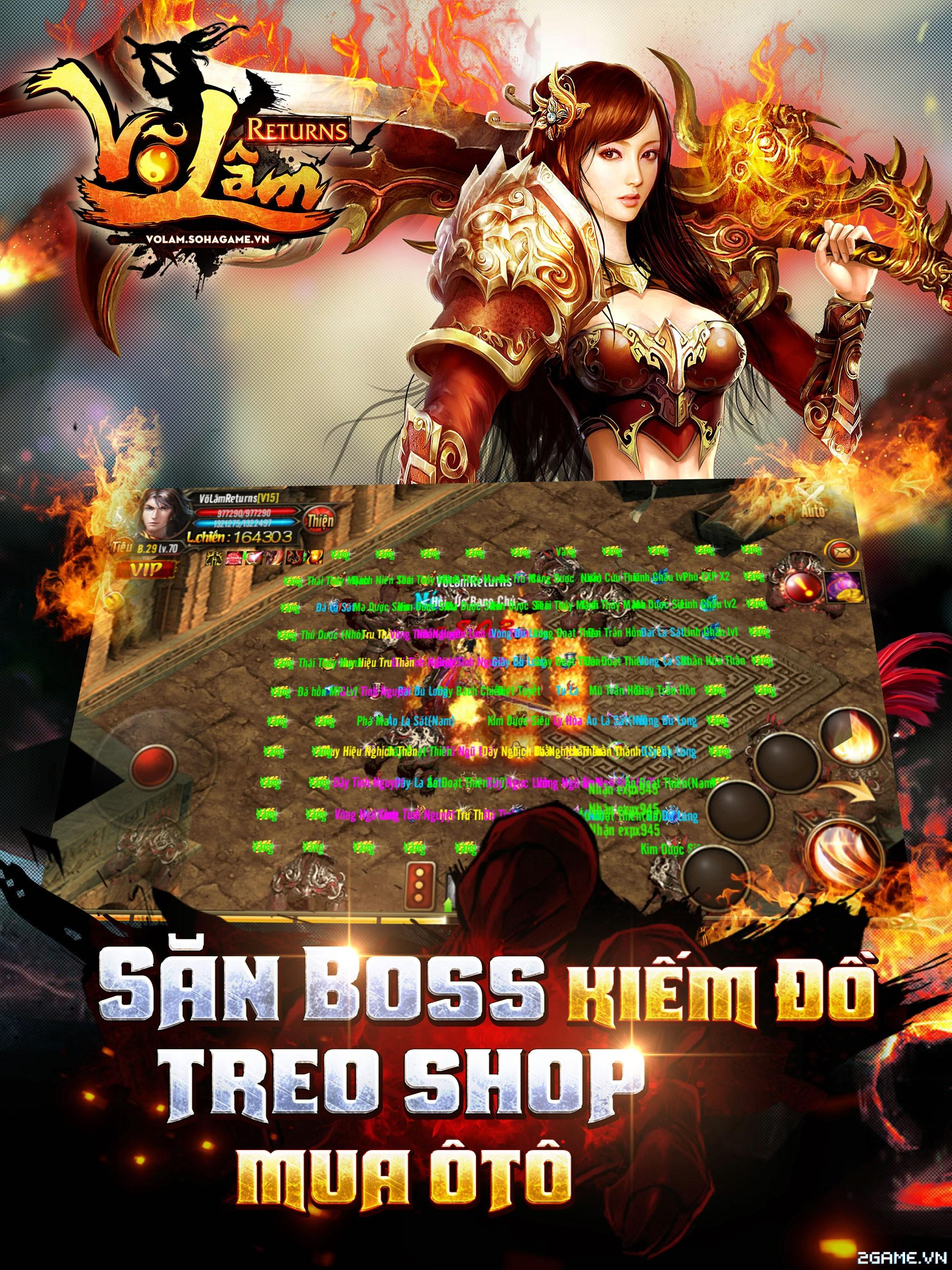 Võ Lâm Returns – Săn Boss