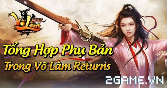 Võ Lâm Returns – Tổng hợp phụ bản