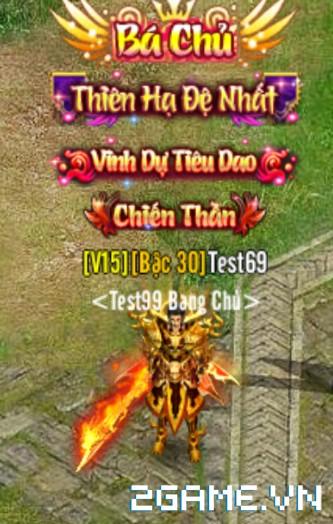 Võ Lâm Returns – Tính Năng Danh hiệu
