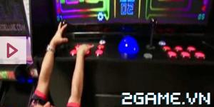 Cận cảnh máy game thùng lớn nhất thế giới