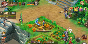 Lục Địa Huyền Bí cho phép người chơi chế đồ tùy thích, nấu ăn hồi sức nhân vật