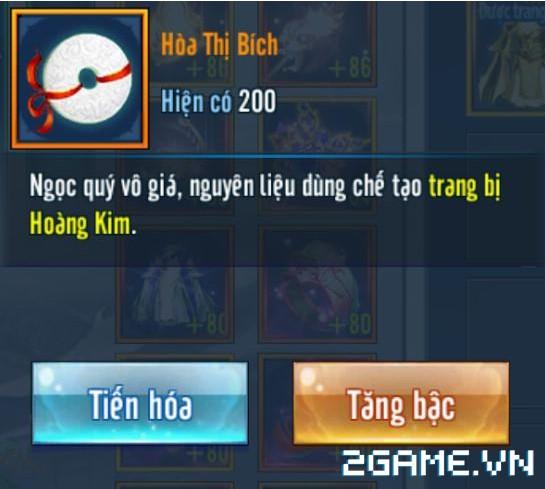 Võ Lâm Truyền Kỳ mobile – Cách sở hữu trang bị Hoàng Kim bậc 7