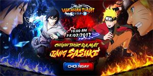 Fan Naruto choáng toàn tập trước tính năng hợp kích cực độc đáo trong Vua Nhẫn Thuật mobile