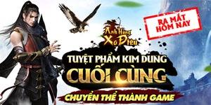 Tặng 555 giftcode Anh Hùng Xạ Điêu 3D mobile