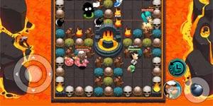 Boom Bá Online mang đến lối chơi quen thuộc của dòng game đặt bom kinh điển
