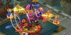 Đồng Hành trợ lực, sức mạnh game thủ webgame Đại Kiếm Vương gia tăng gấp bội