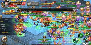 Game thủ Kỵ Sĩ Rồng Mobile đua nhau khoe ảnh Săn boss và Công thành chiến với Bang hội
