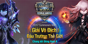 Giải đấu Summoners War vòng chung kết Đông nam á đã chính thức khởi tranh