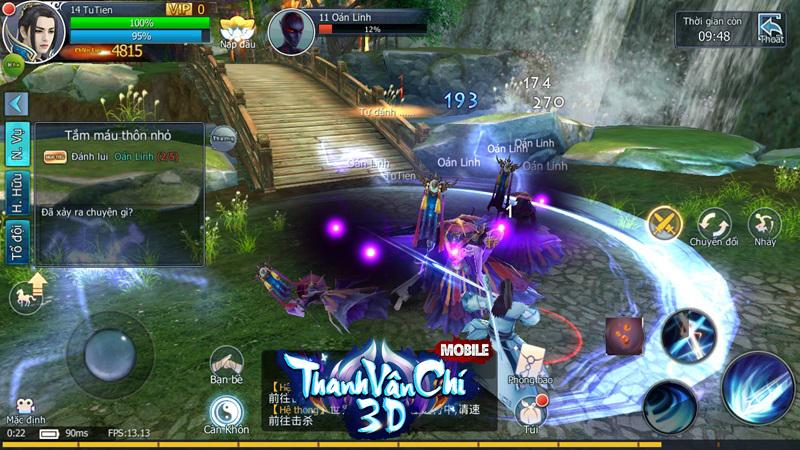 Thanh Vân Chí 3D Mobile