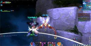 Vào Ngũ Thần Online một là phát triển nhân vật, hai là PK triền miên